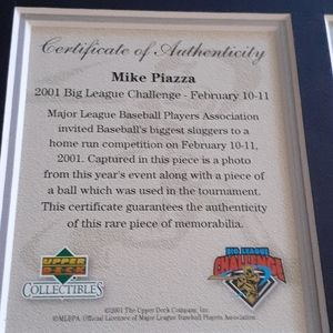 Mike Piazza Autographe pic